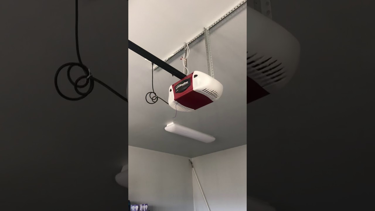 Liftmaster Garage Door Opener Goes Up But Not Down With Remote Hard Wired Button Works Youtube