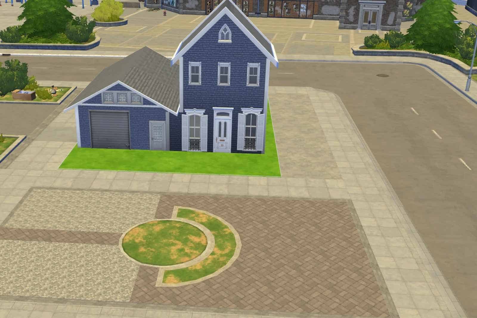 Building A Completely Useless Garage In The Sims 4